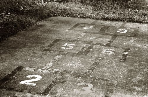 Old hopscotch