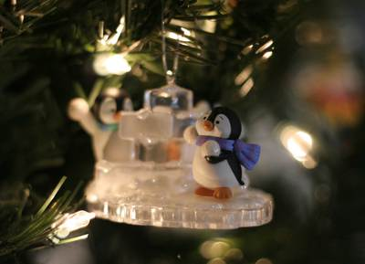 Penguinornament